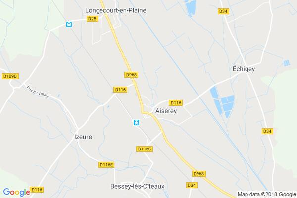 Carte statique de : Association les 3A