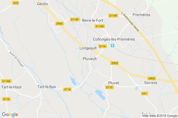 Carte statique de : FOYER RURAL DE PLUVAULT