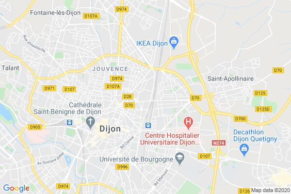 Carte statique de : Salon des Seniors 2019