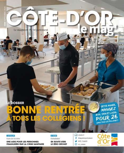 Couverture Côte-d'Or le mag' n°204 septembre 2020