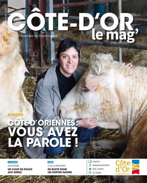 Côte-d'Or le mag' n°210 - avril 2021